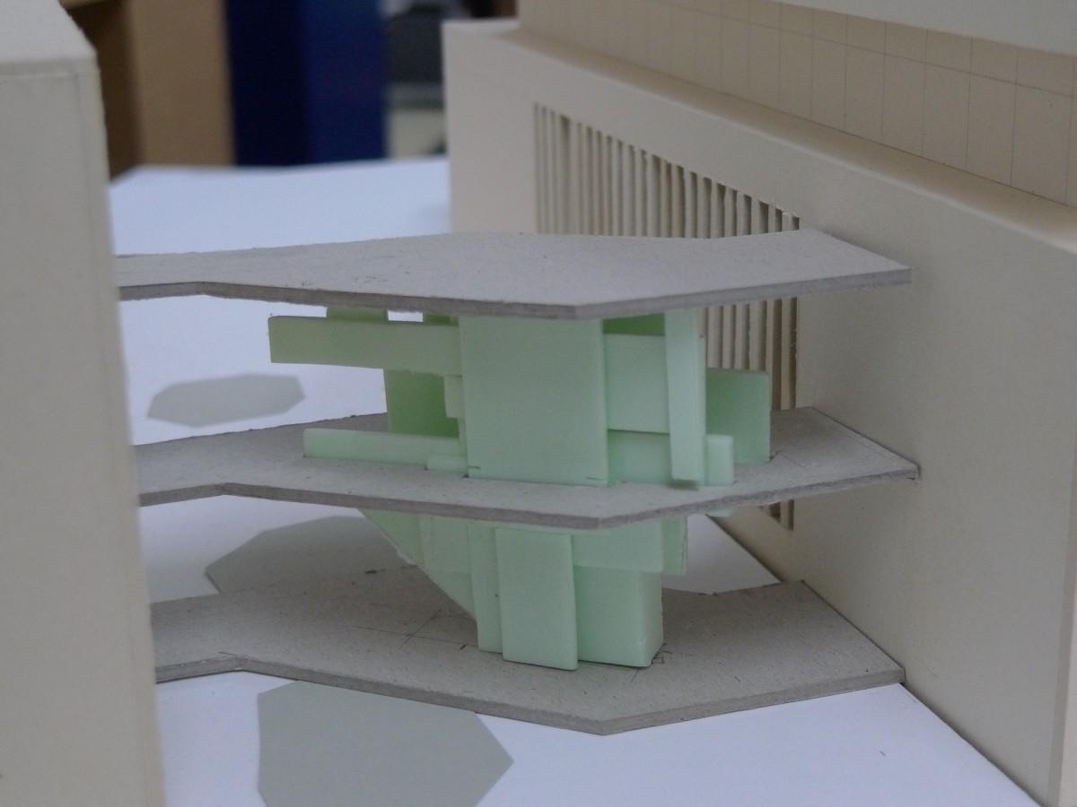 Roth Architekten verbindungsbau universität tübingen